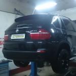 Замена катализаторов на пламегасители BMW X5 E70