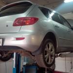 Замена гофры Mazda 3