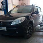 Новая система выпуска отработанных газов Renault Sandero