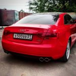 AUDI A5 2.0TFSI custom turbo-back exhaust