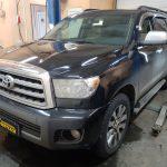 Toyota Sequoia замена нейтрализаторов